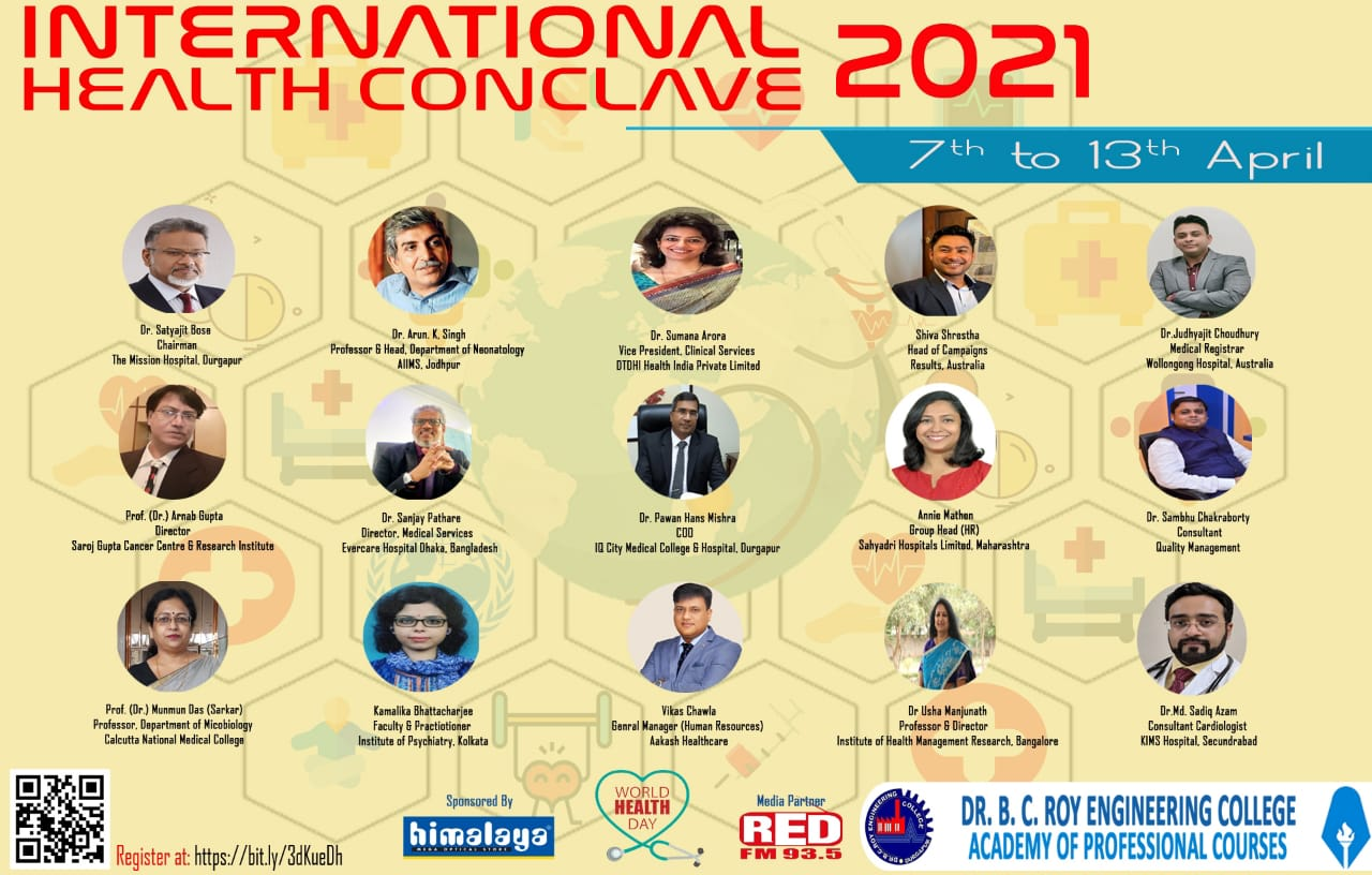 International Health Conclave 2021